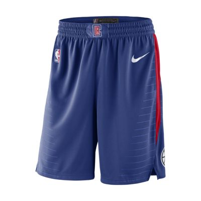 Shorts de la NBA para hombre LA Clippers Icon Edition Swingman