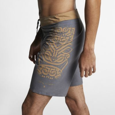 Hurley Cryptik Tiki Herren-Boardshorts (ca. 46 cm)