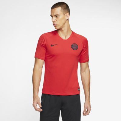 巴黎圣日耳曼 Nike Breathe Strike 男子短袖足球上衣