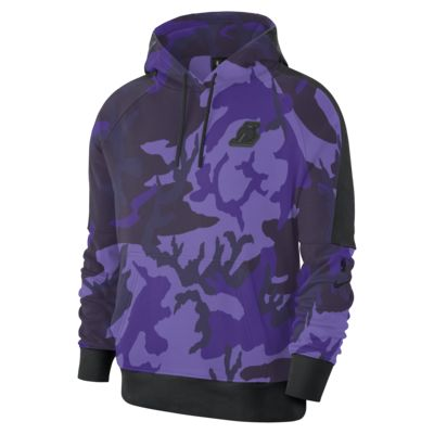 เสื้อมีฮู้ด NBA ผู้ชาย Los Angeles Lakers Nike