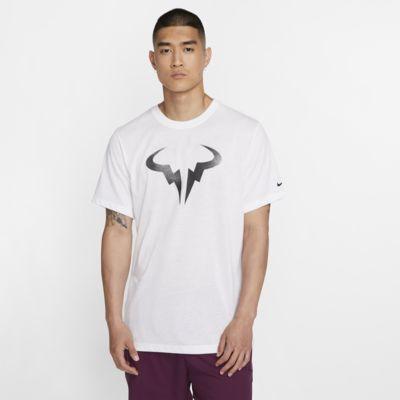 เสื้อยืดเทนนิสผู้ชายมีกราฟิก NikeCourt Dri-FIT Rafa