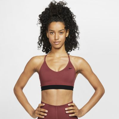 Nike Indy sports-BH med lett støtte til dame