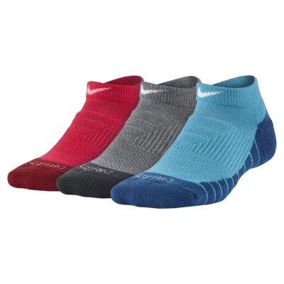 Купить Носки для школьников Nike Dri-FIT Cushion No-Show (3 пары)