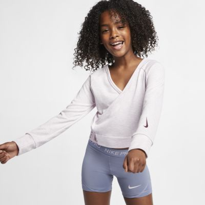 Nike Big Kids' (Girls') Long-Sleeve Reversible Training Top