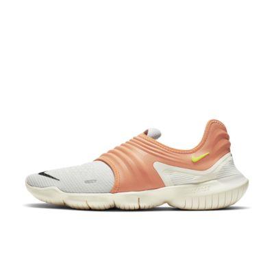 Купить Мужские беговые кроссовки Nike Free RN Flyknit 3.0 NRG, Platinum Tint/Спокойный мандариновый/Салатовый, 23114075, 12609145