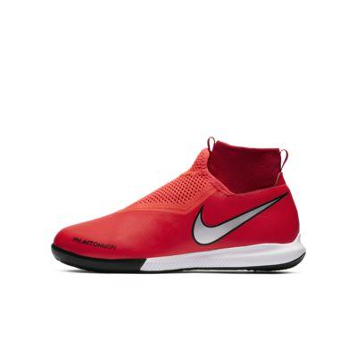 รองเท้าฟุตบอลเด็กสำหรับสนามในร่ม/คอร์ท Nike Jr. Phantom Vision Academy Dynamic Fit IC