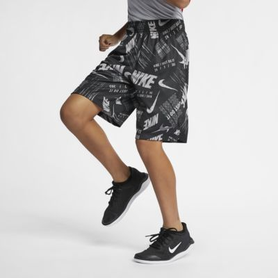 Nike Dri-FIT Big Kids' (Boys') Printed Training Shorts