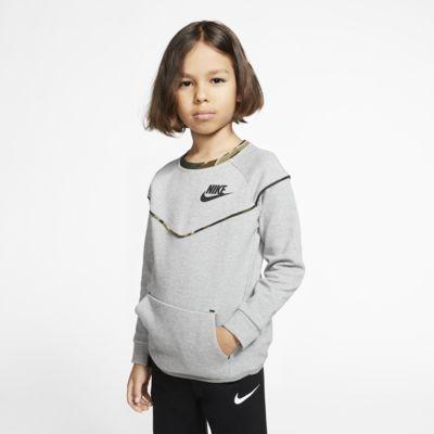 Nike Sportswear Tech Fleece Little Kids' Crew