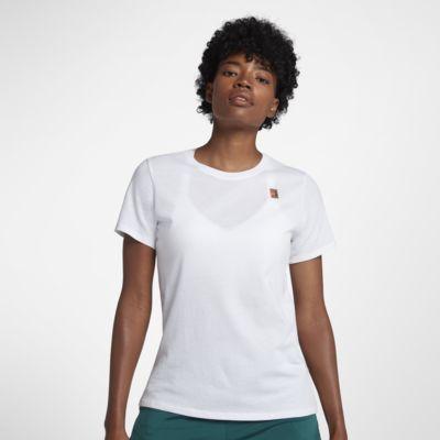 Tennis-t-shirt NikeCourt för kvinnor