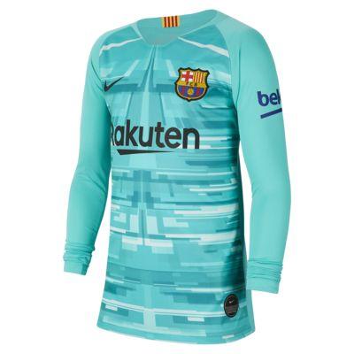 FC Barcelona 2019/20 Stadium Goalkeeper Voetbalshirt voor kids