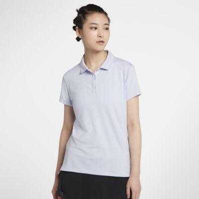 เสื้อโปโลเทนนิสผู้หญิง NikeCourt Pure