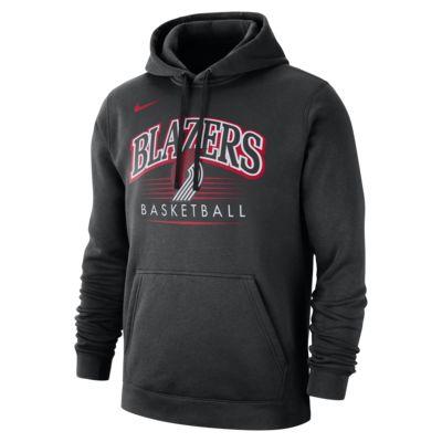 Portland Trail Blazers Nike NBA-s kapucnis férfipulóver