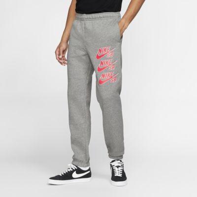 Skateboardbyxor Nike SB Icon i fleece för män