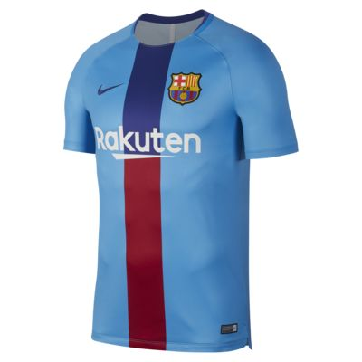 Nike Dri-FIT FC Barcelona Squad Men's Short-Sleeve Graphic Football Top