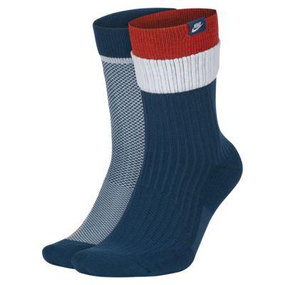 Chaussettes multi-tailles Nike SNEAKR Sox (2 paires avec coffret cadeau)
