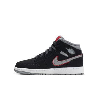 Air Jordan 1 Mid - sko til store børn
