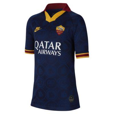 Camiseta de fútbol alternativa para niños talla grande Stadium del A.S. Roma 2019/20