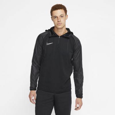 Nike Dri-FIT Repel Academy-fodboldtræningstrøje med hætte til mænd