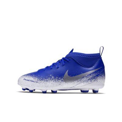 รองเท้าสตั๊ดฟุตบอลเด็กเล็ก/โตสำหรับพื้นหลายประเภท Nike Jr. Phantom Vision Club Dynamic Fit