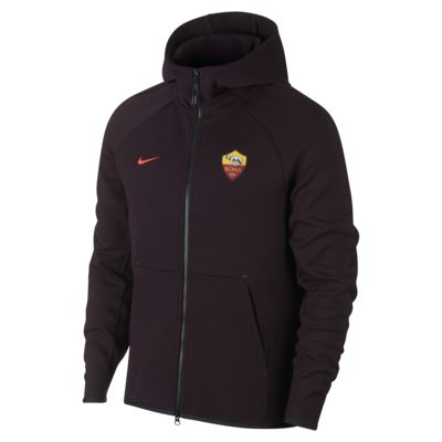 A.S. Roma Tech Fleece Men's Full-Zip Hoodie