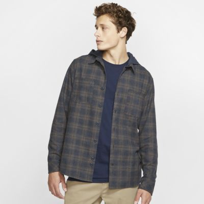 Hurley Crowley Washed Men's Long-Sleeve Hooded Top