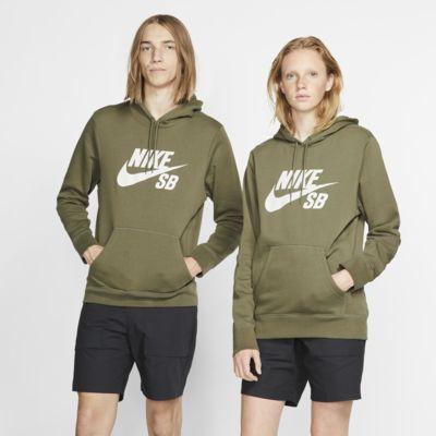 Felpa pullover da skateboard con cappuccio Nike SB Icon