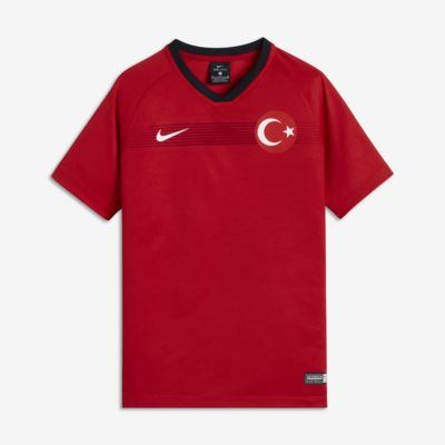 Camiseta de fútbol para niños talla grande 2018 Turkey Stadium Home