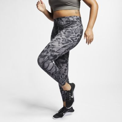 Nike One Luxe Women's Printed Tights (Plus Size)