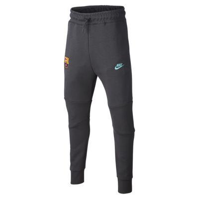 Pantalones para niños talla grande FC Barcelona Tech Fleece