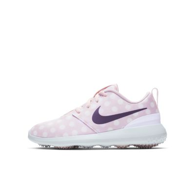 Nouveau Chaussure de Golf Nike Fille Nike Roshe Jr