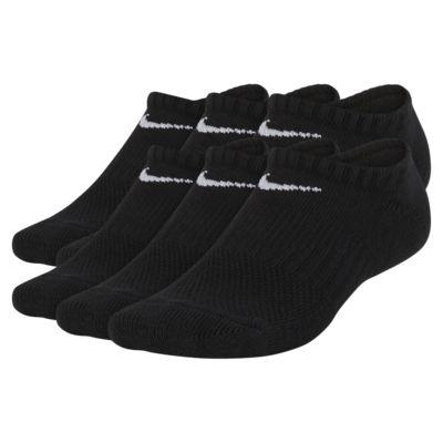 Nike Performance Cushioned No-Show Kids' Training Socks (6 Pair)
