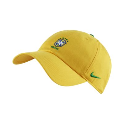 Brasil CBF H86 Core Adjustable Hat
