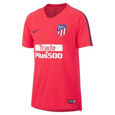 Top de fútbol para niños talla grande Atlético De Madrid Breathe Squad