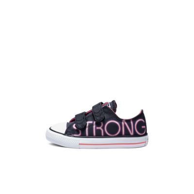 Converse Chuck Taylor All Star Pretty Strong Hook and Loop Low Top Toddler Shoe