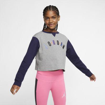Air Jordan Older Kids' (Girls') Colour-Blocked Crew