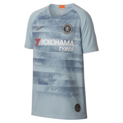 2018/19 Chelsea FC Stadium Third Older Kids' Football Shirt
