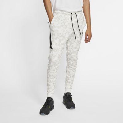 Pánské běžecké kalhoty Nike Sportswear Tech Fleece s potiskem