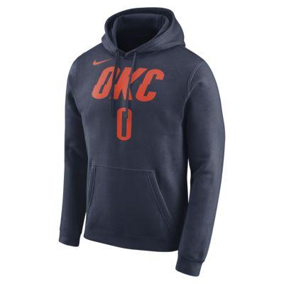 เสื้อมีฮู้ด NBA ผู้ชาย Russell Westbrook Oklahoma City Thunder Nike