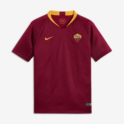 2018/19 A.S. Roma Stadium Home Older Kids' Football Shirt
