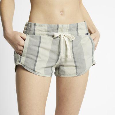 Hurley Beach stripet shorts til dame