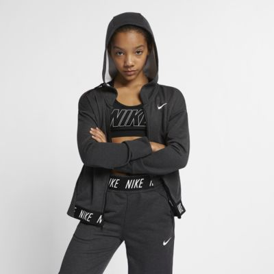 Nike Big Kids' (Girls') Full-Zip Training Hoodie