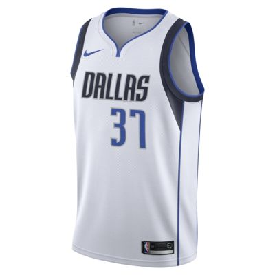 Maillot connecté Nike NBA Kostas Antetokounmpo Association Edition Swingman (Dallas Mavericks) pour Homme