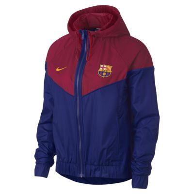 Dámská bunda FC Barcelona Windrunner. Nike.com CZ ff8ac8174a7