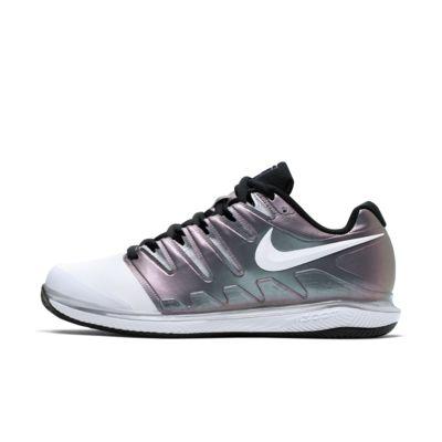 NikeCourt Air Zoom Vapor X tennissko for grusbane til dame