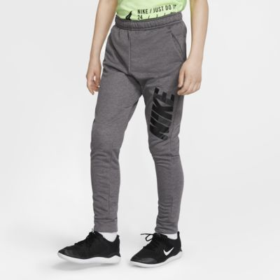 Nike Dri-FIT Boys' Tapered Graphic Training Pants