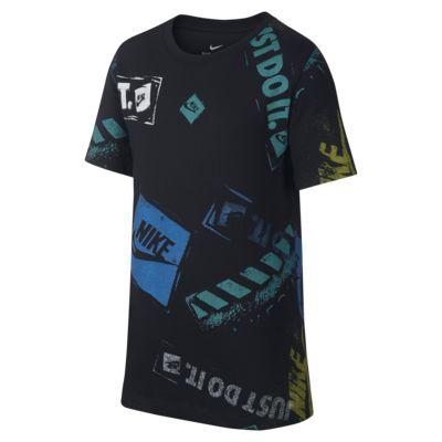 ナイキ スポーツウェア ジュニア プリンテッド Tシャツ