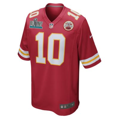 NFL Kansas City Chiefs Super Bowl LIV (Tyreek Hill) Men's Game Football Jersey