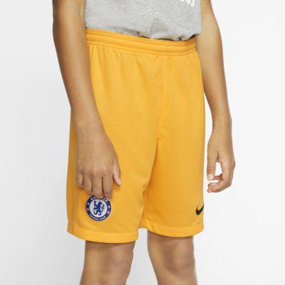 Chelsea FC 2019/20 Stadium Goalkeeper-fodboldshorts til store børn