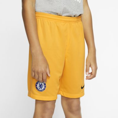 Chelsea FC 2019/20 Stadium Goalkeeper Older Kids' Football Shorts