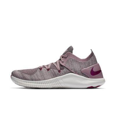 รองเท้ายิม/HIIT/ครอสเทรนนิ่งผู้หญิง Nike Free TR Flyknit 3